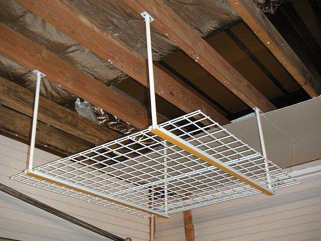 Best overhead storage ideas on pinterest diy garage