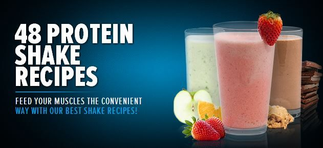 Bodybuilding.com - 48 Protein Shake Recipes - I have tried about 5 of these recipes, they are so good!
