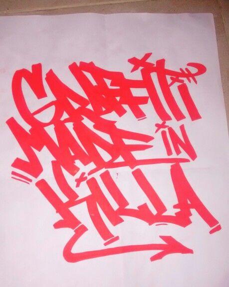#graffiti #calligraphic #letters #tag #graffitiart