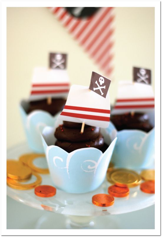 A variety of free Pirate party printables for your little guy