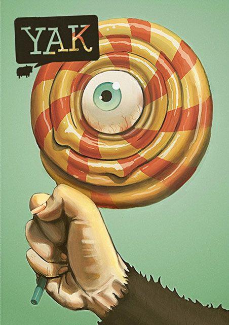 Yak Magazine - Michael Sungaila, Graphic Designer and Illustrator