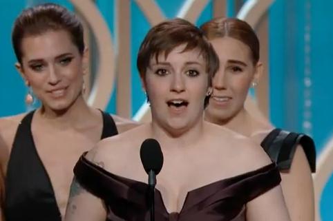 Lena Dunham's 'Chad Lowe Thank You' Was a Little Bit Funny & a Little Bit Rude (VIDEO)