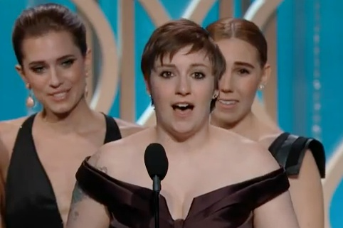 Lena Dunham's 'Chad Lowe Thank You' Was a Little Bit Funny & a Little Bit Rude (VIDEO)