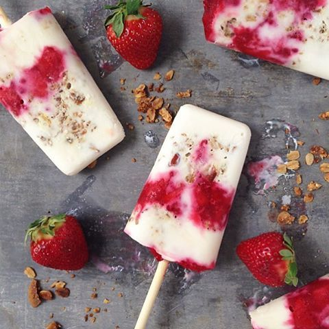 17 best images about sweet treats on pinterest yogurt granola and chocolate covered peanuts - Refreshing dishes yogurt try summer ...