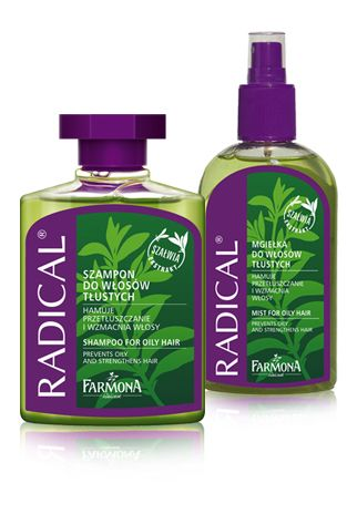 Wyjątkowo skuteczne produkty do częstego mycia i pielęgnacji włosów z tendencją do przetłuszczania się ♥ http://farmona.pl/produkty/pielegnacja-wlosow/radical-linia-do-wlosow-tlustych/