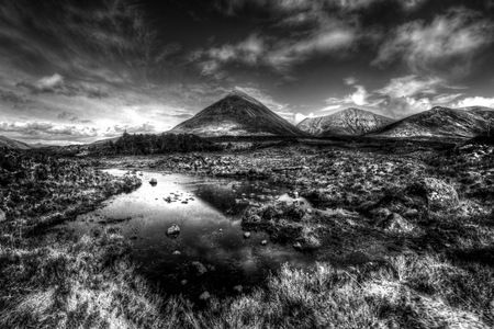 Interior Design and Home Decoration Artwork from Art Australia - buy this original signed print in 3 sizes.  Mountain Stream BW by David Rennie available via http://www.art-australia.com/mountain-stream-b-w-by-david-rennie/