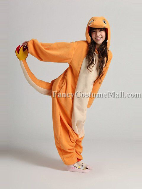 Pin for Later: Pokémon Gifts For the Geek Who Wants to Catch 'Em All  Charmander Onesie ($19)