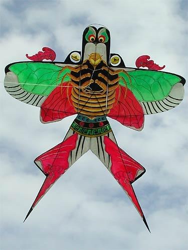 La Fête Qingming - Feng Zheng , cerfs-volants en Chine
