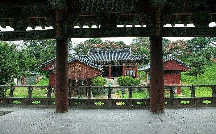 Namgyeseowon in Hamyang, Korea  함양 남계서원