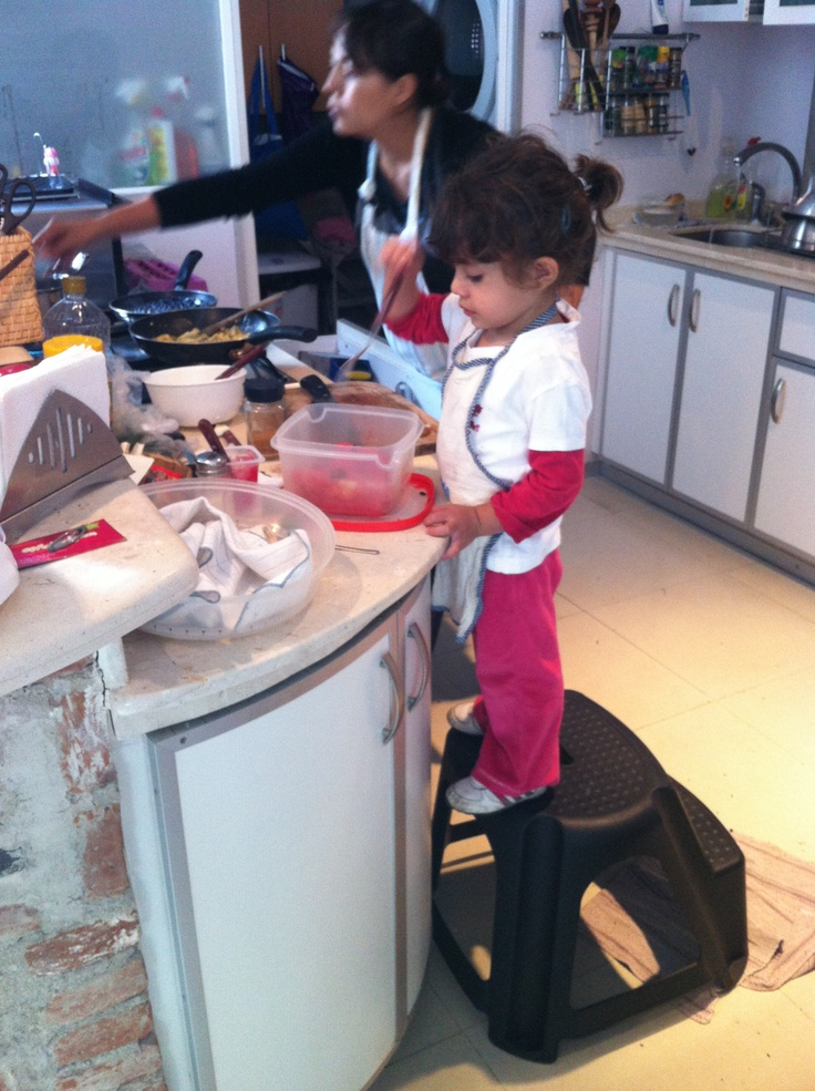 My chics at cooking