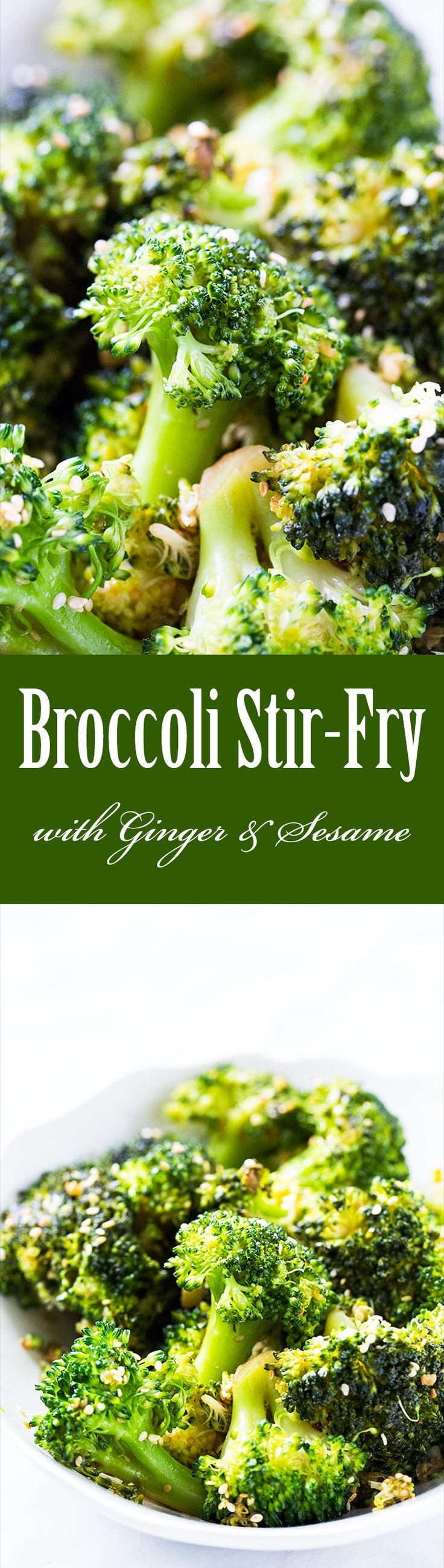 Broccoli stir fry, Stir fry and Paleo vegan on Pinterest