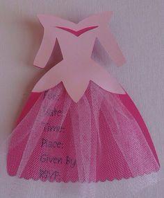 Prinzessin Kleid Einladung zur von MadeOnEasternAvenue auf Etsy