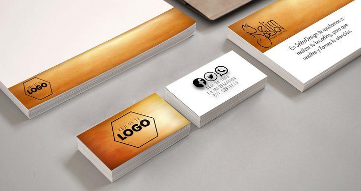#branding #logotype #Logotipo #diseño #imagencorporativa #tarjetas #gold #design #selimdesign