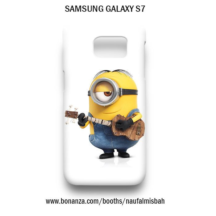 Playing Guitar Stuart Minion Samsung Galaxy S7 Case