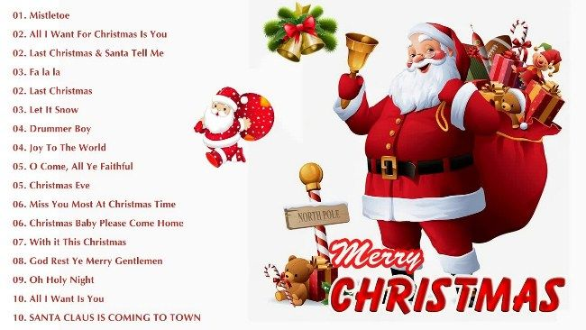 Amazing Christmas Songs Free Download 2018 Play Online Merry Christmas Song Christmas Songs Lyrics Christmas Song