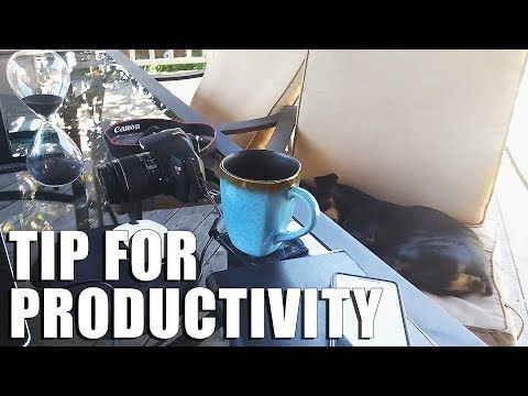 How to be More Productive   Tip for Productivity   VLOG - YouTube