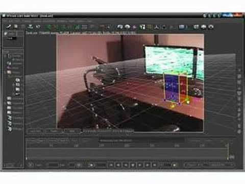 PFTrack Tutorial - Homemade CGI MatchMove
