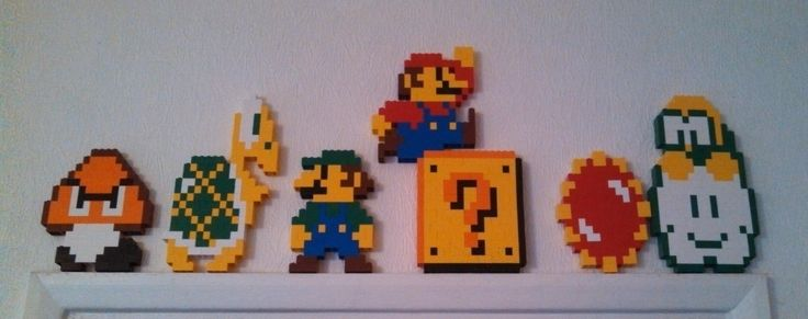 My Super Mario Bros LEGO set is complete : lego