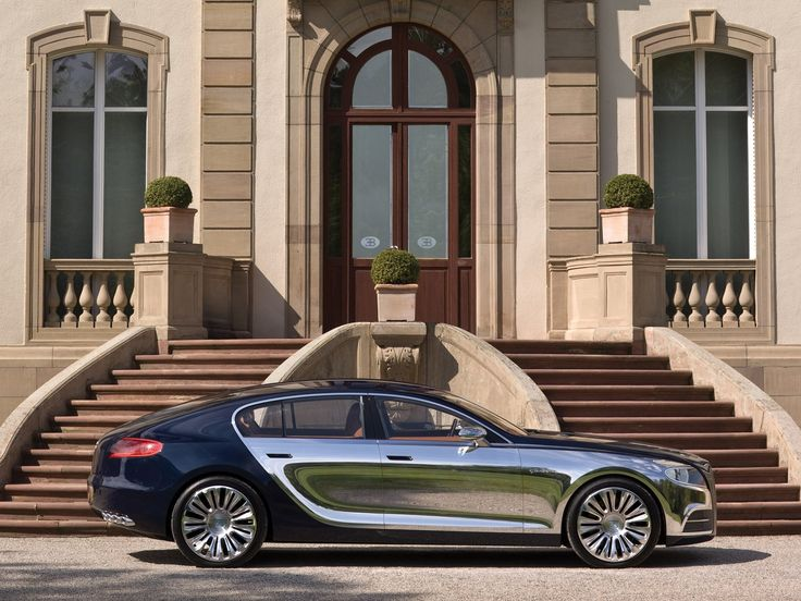 Bugatti Chiron Replacement Could Be An Ultra-Luxury Sedan