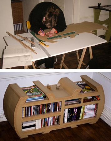 205 best images about cardboard paper mache furniture on for Paper mache furniture ideas