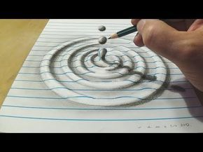 Comment Dessiner Une Illusion D Optique Trou Tutoriel Youtube