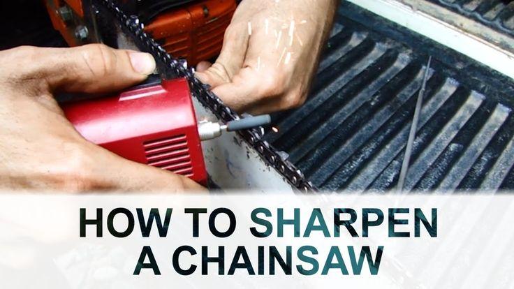1000 Ideas About Chainsaw Sharpener On Pinterest