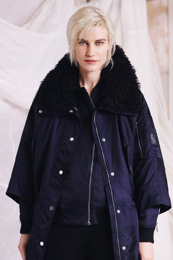 Belstaff - loved the colour: intense midnight with black trim