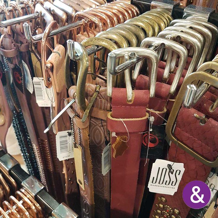Riemen: in zoveel kleuren als u maar nodig heeft!   Gürtel: In allen Farben, die Sie brauchen!   #josmode #riemen #belts #gürtel #zomer2017 #fashionextraswebshop #fashionextras #bijou #fashion #b2b #wholesale #inkoopcentrum #einkaufcentrum #cashandcarry #cashundcarry #groothandel #grosshandel