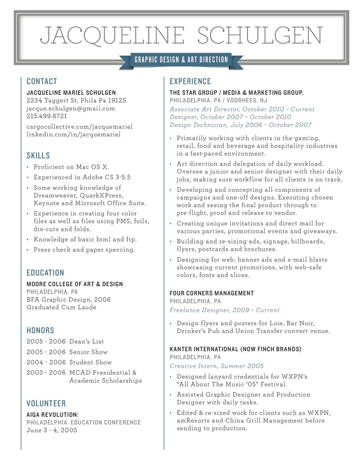 76 best Future Life as an Art Director Hopefully images on - art director resume sample