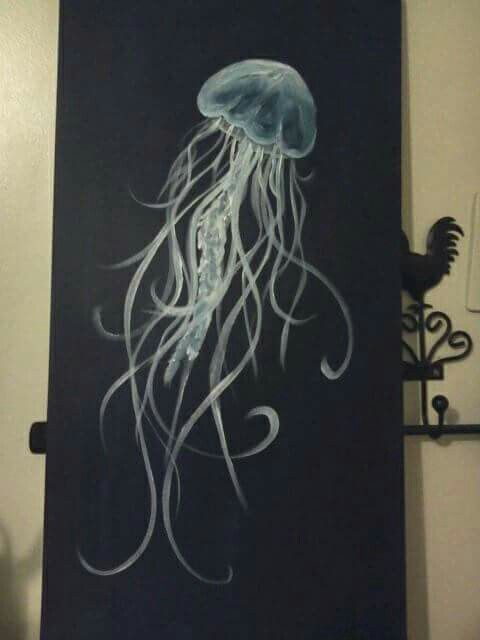 My jellyfish painting