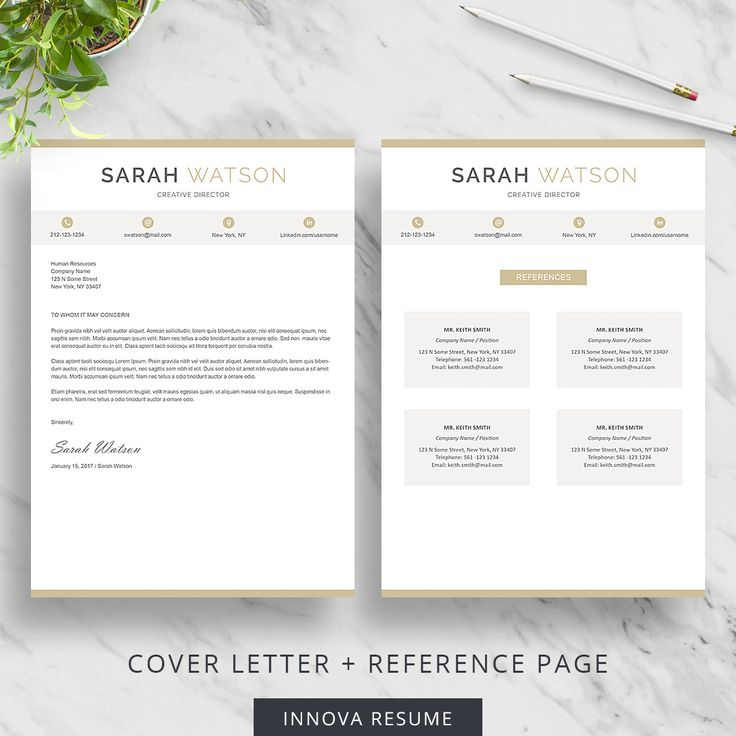 25 best Resume Templates images on Pinterest Cv resume template - references page for resume