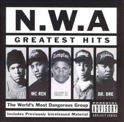 N.W.A. - N.W.A. Greatest Hits LP RE