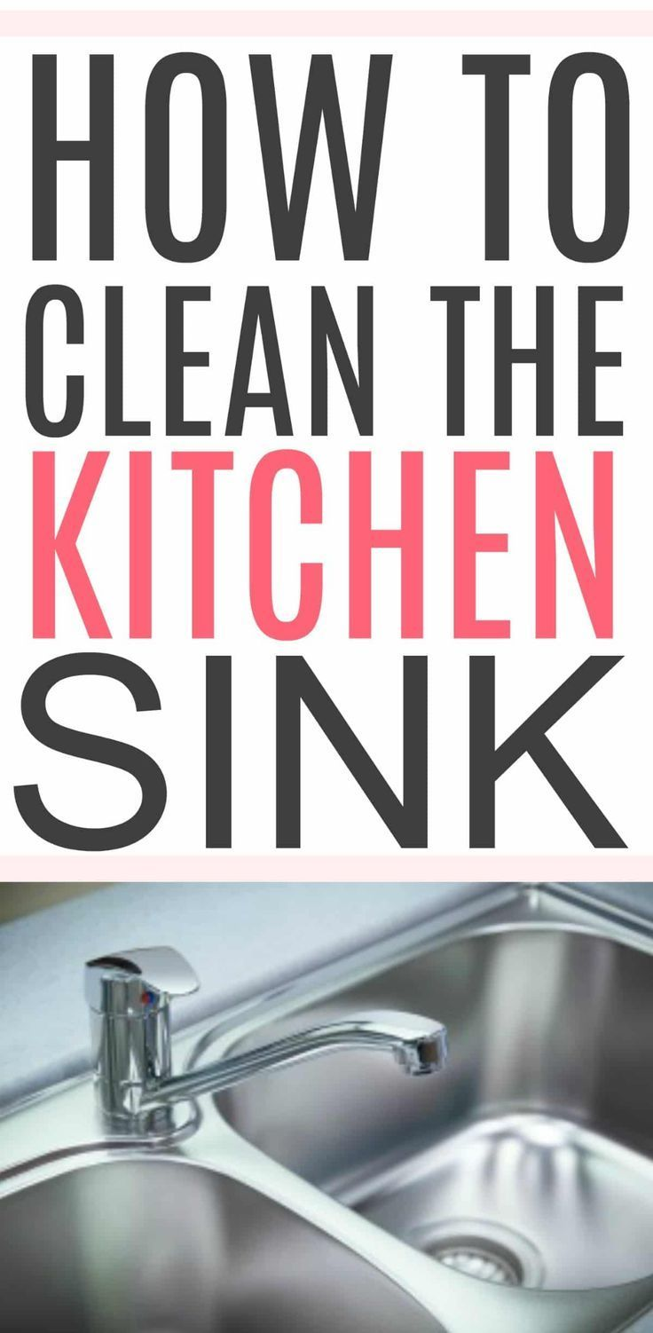 Swell How To Clean A Kitchen Sink Best Money Saving Tips House Complete Home Design Collection Papxelindsey Bellcom