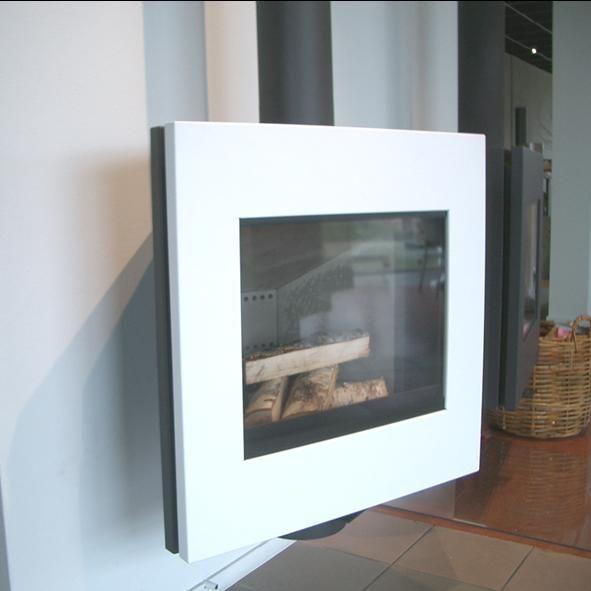 Harrie Leenders wall mounted stove