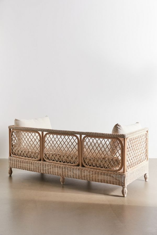 Calliope Daybed In 2020 Daybed Rattan Daybed Cushions