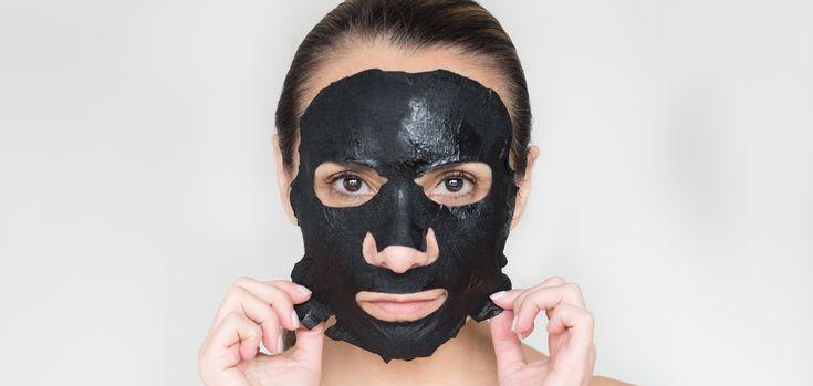concocter un masque visage maison au charbon box pinterest masque visage masque visage. Black Bedroom Furniture Sets. Home Design Ideas