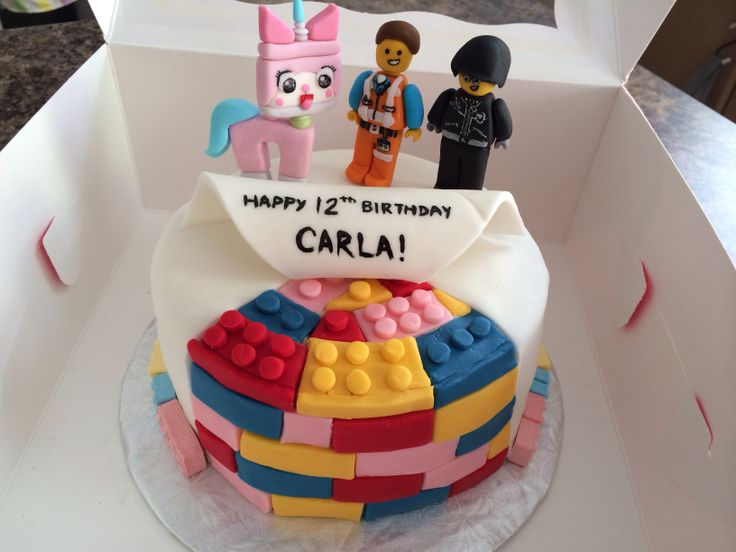Lego movie cake #lulacreations
