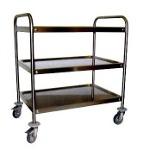 TR - Pattumiere - Carrelli - Lavamani - Tramogge in acciaio inox #carrelli #cart