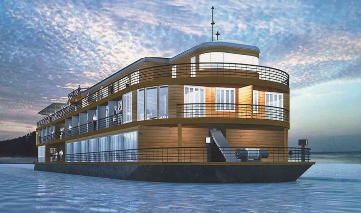 AmaWaterways - Artist Rendering of AmaPura