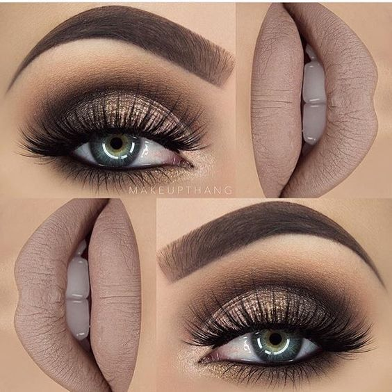 Top 10 Gorgeous Fall Makeup Ideas  #Makeup #MakeupIdeas #FallMakeup