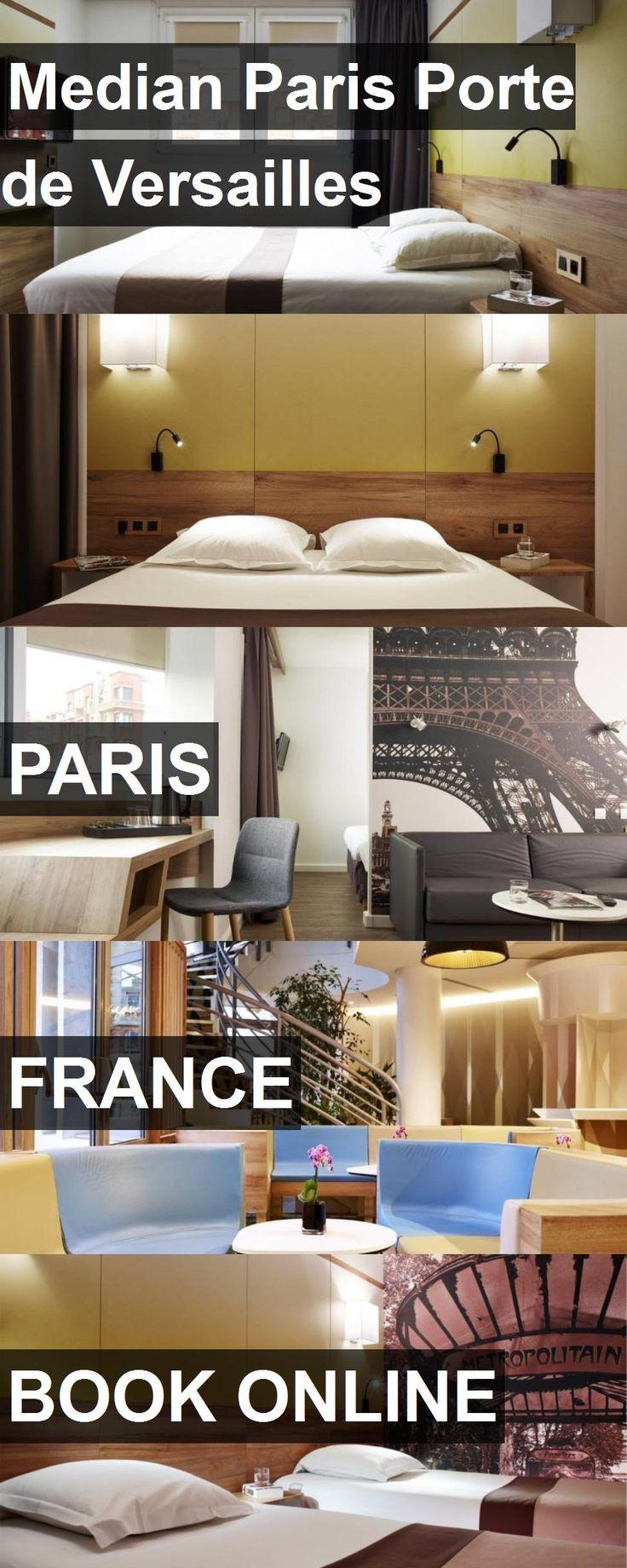 Hotel Median Paris Porte de Versailles in Paris, France. For more information, photos, reviews and best prices please follow the link. #France #Paris #MedianParisPortedeVersailles #hotel #travel #vacation