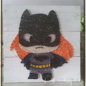 Batgirl- String Art - All Strung Up