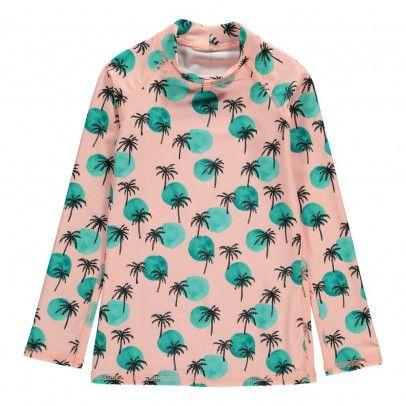 T-Shirt Anti-UV Palmiers Astin Rose  Soft Gallery