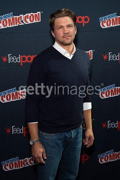 Actor Marc Blucas poses in...