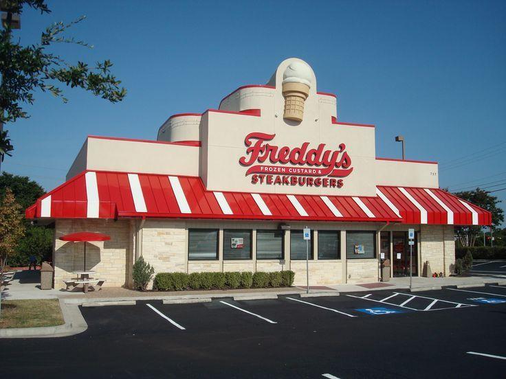 Freddy's Frozen Custard & Steak Burgers  ST. LOUIS, MO: (STLRestaurant.News) - Scoot over restaurants one and two, Freddy's Frozen Custard & Steakburgers, a Wichita, Kansas-based fast-casual chain, has just opened their third area location ...