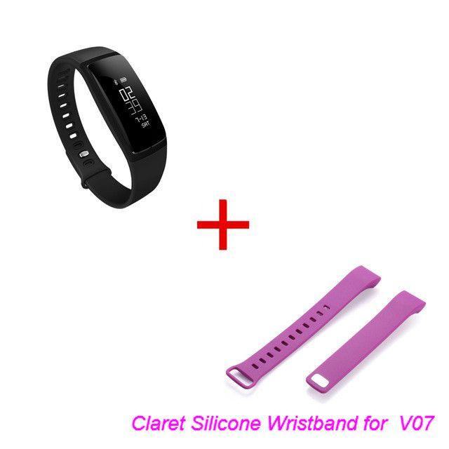 Blood Pressure Smart Wristband V07 Pedometer Smart Bracelet Heart Rate Monitor