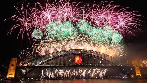 Places to visit in 2016: Sydney, Australia during their epic new years celebration. Get ready for massive fireworks over Sydney Harbour Bridge! #kilroy #sydney #australia #newyears #celebration #fireworks