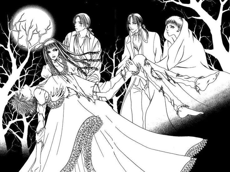 anime wallflower | Sunako is the black-haired girl in the dress. ^^ Kyohei, Yuki, Oda and ...
