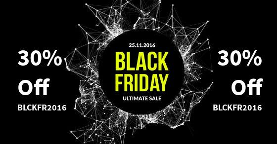 Black Friday | Cyber Monday 2016 Sale is here! #joomla #blackfriday #cybermonday