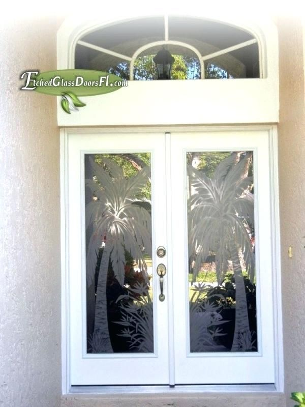 Etched Front Door Glass Anticavillainfo Glass Front Door Etched Glass Door Door Glass Design